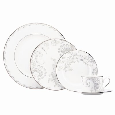 Marchesa by Lenox Paisley Bloom 5 Piece Place Setting
