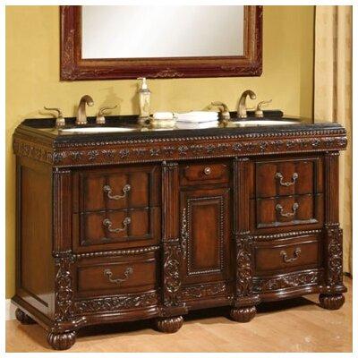 Bathroom Vanity on Global Treasures Bradford 60  Double Bathroom Vanity Set The  Bradford
