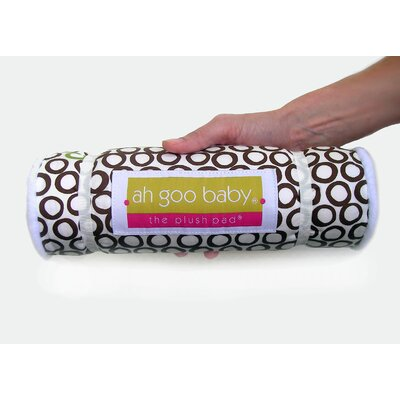 Ah Goo Baby Memory Foam Changing Pad in Bubbles in Cola