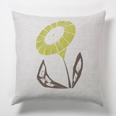 threesheets2thewind Sun Flower Pillow