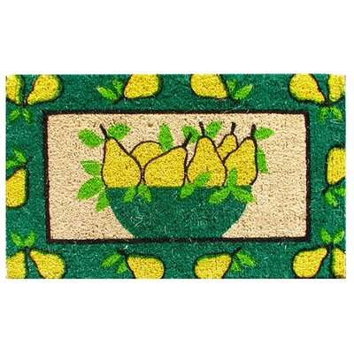 Imports Decor Golden Pears Doormat