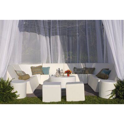 La-Fete Romp Cabana 13 Piece Bench Seating Group