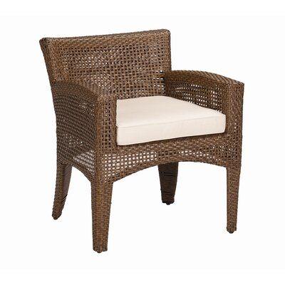 Sunset West Huntington Dining Arm Chair with Cushion