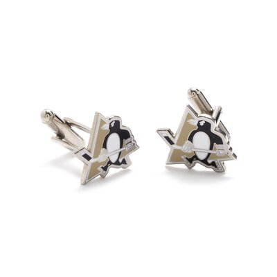 Cufflinks Inc. NHL Silver Plated Cufflinks