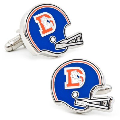 Cufflinks Inc. Retro Denver Broncos Cufflinks