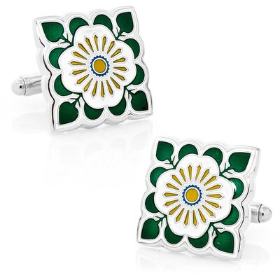 L2 English Ivy Cufflinks