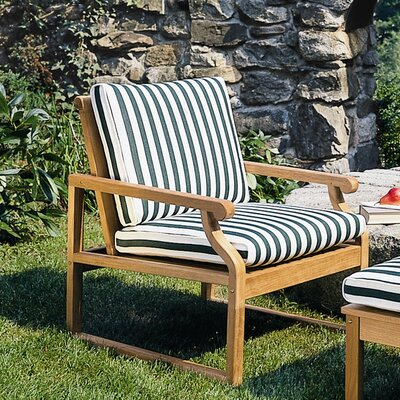 Kingsley Bate FabCushion for Nantucket Club Chair Seat & Back