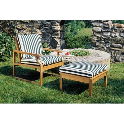 Kingsley Bate Nantucket Outdoor Ottoman