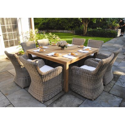 Wainscott 9 Piece Dining Set