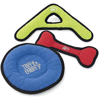 Tuff Enuff Boomerang Dog Toy