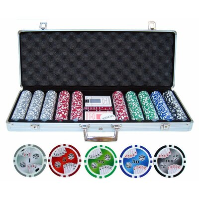 500 Piece Double Royal Flush Poker Chip Set