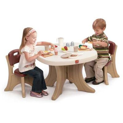 Step2 New Traditions Kids' 3 Piece Table and Chair Set