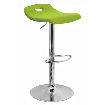 LumiSource Surf Bar Stool in Green