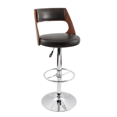 Presta Barstool in Cherry Wood
