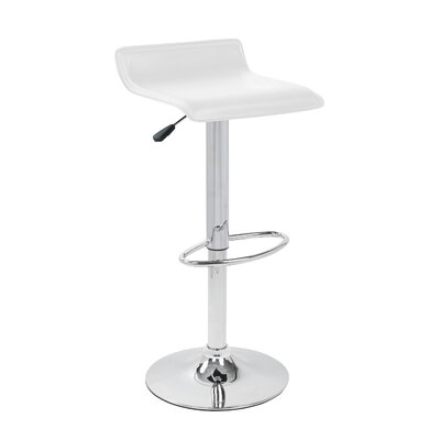 LumiSource Ale Barstool in White