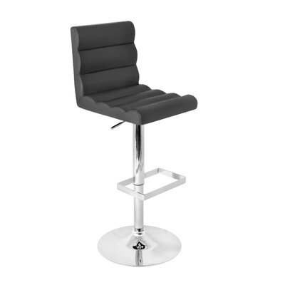 LumiSource Auto Barstool in Black