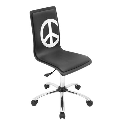 LumiSource Peace Printed Computer Chair