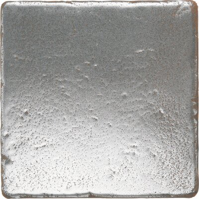 "Daltile Metal Signatures Tumbled Stone 4"" x 4"" Field Tile in Aged Iron"