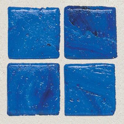 "Daltile Sonterra Collection 12"" x 12"" Opalized Mosaic Tile in Kihea Blue"