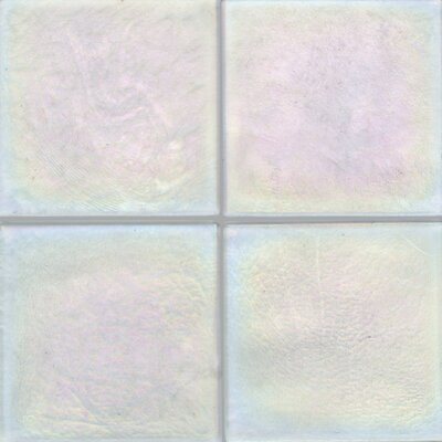 "Daltile Cristallo Glass 4"" x 4"" Field Tile in Aquamarine"