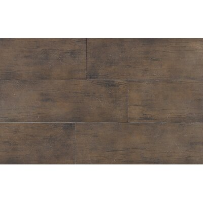"Daltile Timber Glen 8"" x 24"" Rustic Field Tile in Espresso"