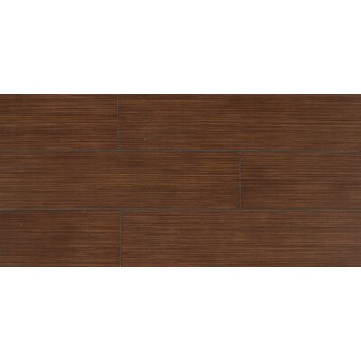 "Daltile Timber Glen 6"" x 24"" Contemporary Field Tile in Cherry"