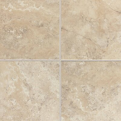 "Daltile Palatina 18"" x 18"" Unpolished Field Tile in Corinth Cream"