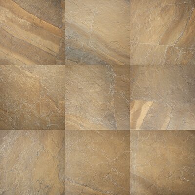 "Daltile Ayers Rock 13"" x 20"" Unpolished Field Tile in Bronzed Beacon"