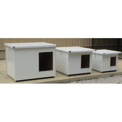 Insulated Dog House with Aluminum Lining