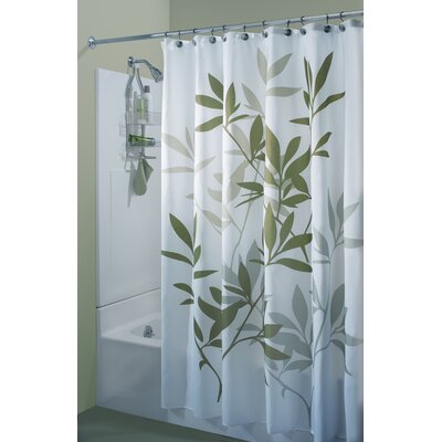 InterDesign Leaf Print Shower Curtain