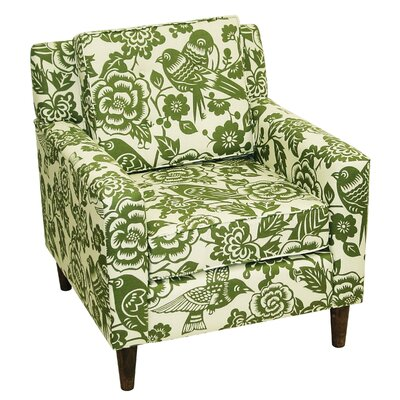 Skyline Furniture Cube Fabric Lounge Chair