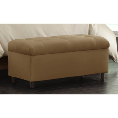 Skyline Furniture Tufted Storage Ottoman