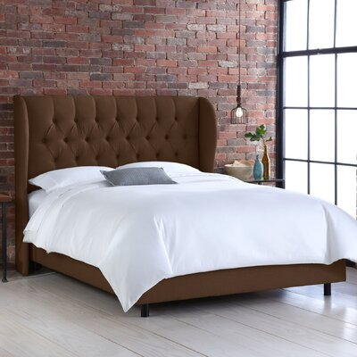 Skyline Furniture Wingback Bed