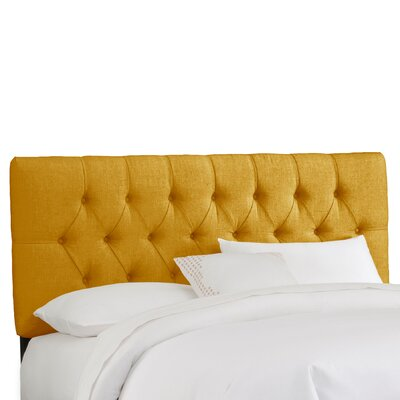 Skyline Furniture Tufted Linen Headboard