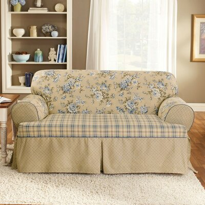 Sure-Fit Lexington T-Cushion Sofa Slipcover