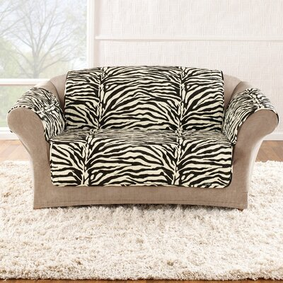 Sure-Fit Zebra Quick Loveseat Slipcover