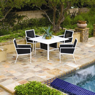 Koverton Parkview Woven 5 Piece Dining Set
