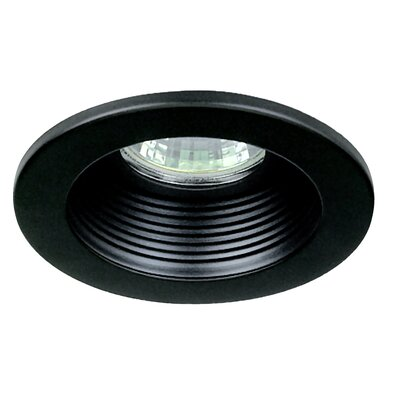 "Royal Pacific 3"" Baffle Trim for Recessed Housing in Black"