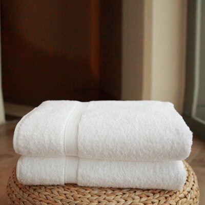 Linum Home Textiles Luxury Hotel and Spa Bath Sheets (Set of 2)