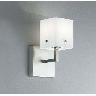 ILEX Lighting Quad Cubic 1 Light Wall Sconce