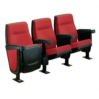 Bass Forum Row of Three Movie Theater Chairs