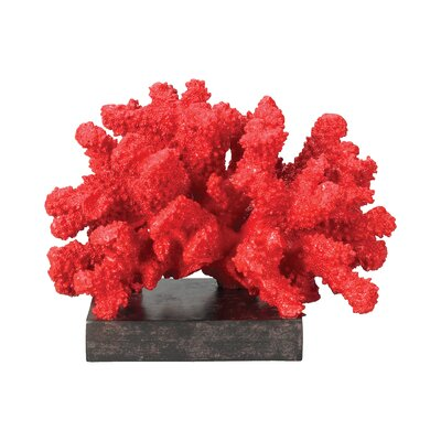 Sterling Industries Fire Island Coral Statue