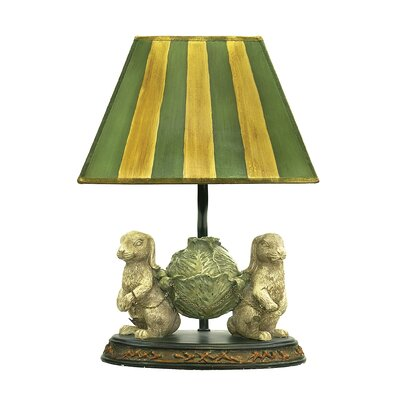 Sterling Industries Bunnies Bearing Dinner Table Lamp