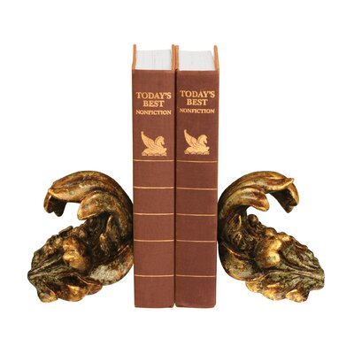 Sterling Industries Turning Leaf Bookend (Set of 2)