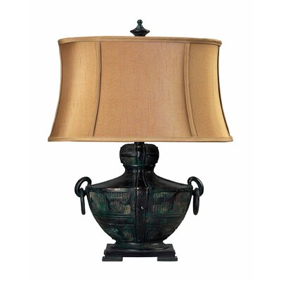 Sterling Industries Antiqued Asian Pot Table Lamp in Quinsanga