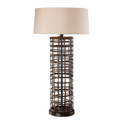Sterling Industries Rattan Table Lamp