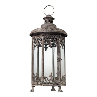 Sterling Industries Hexagonal Hurricane Lantern