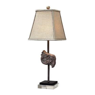 Sterling Industries Artifact Buffet Table Lamp with Acrylic Base