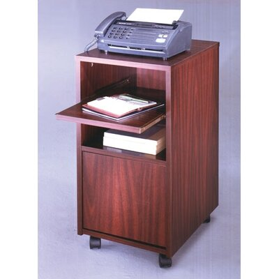 Ironwood Fax Stand
