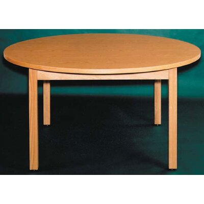 Ironwood Round Oak Frame Table